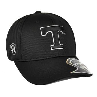 Tennessee Volunteers Top Of The World Resurge Black One Fit Flex Hat (Adult One Size)