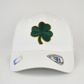 Notre Dame Fighting Irish Top Of The World Premium Collection White One Fit Flex Hat (Adult One Size)