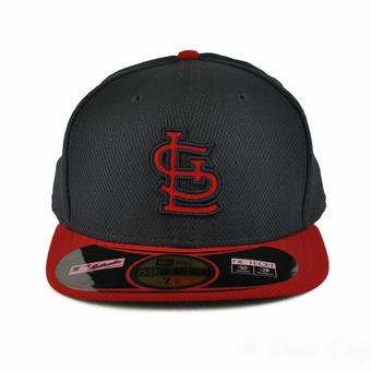 St. Louis Cardinals New Era Diamond Era 59FIfty Fitted Navy & Red Hat