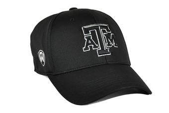 Texas A&M Aggies Top Of The World Ultrasonic Black One Fit Flex Fit Hat (Adult One Size)
