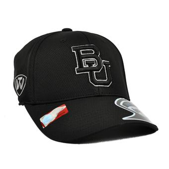 Baylor Bears Top Of The World Ultrasonic Black One Fit Flex Fit Hat (Adult One Size)
