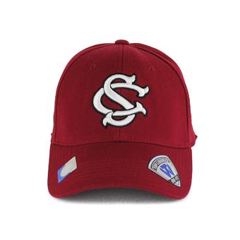 South Carolina Gamecocks Top Of The World Premium Collection Maroon One Fit Flex Hat (Adult One Size)
