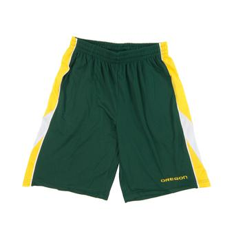 Oregon Ducks Colosseum Green Apex Shorts (Adult L)