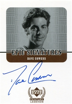 1999 Upper Deck Century Legends Epic Signatures #DC Dave Cowens