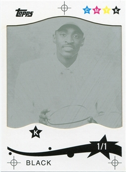 2005/06 Topps Press Plates Black #240 Julius Hodge 1/1