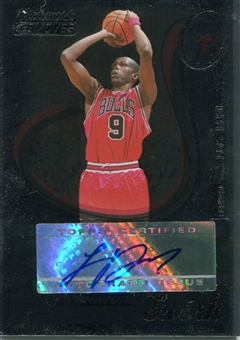 2006/07 Topps Trademark Moves Swish Autographs Foil #SSW16 Luol Deng /35