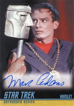 2009 Star Trek The Original Series Autographs #A221 Marc Adams