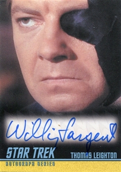 2009 Star Trek The Original Series Autographs #A216 William Sargent