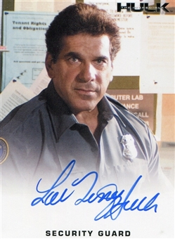 2008 Incredible Hulk Movie Expansion #LF1 Lou Ferrigno Autograph