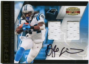 2010 Panini Gridiron Gear Gamebreakers Jerseys Combos Autographs #10 DeAngelo Williams 4/5