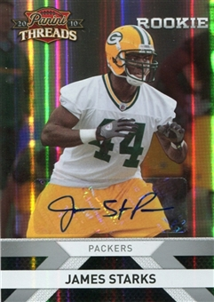 2010 Panini Threads Autographs Silver #234 James Starks /499