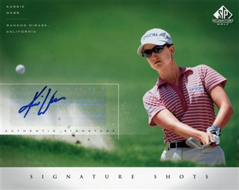 2004 SP Signature Shots 8 x 10 #KW Karrie Webb