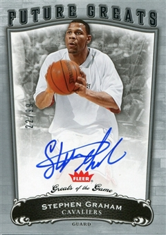 2005/06 Greats of the Game #149 Stephen Graham Autograph Rookie /99
