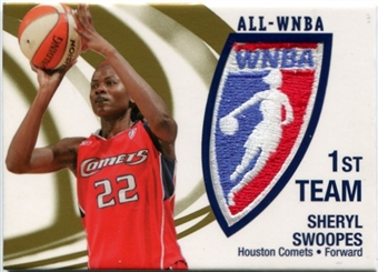 2006 WNBA Patches #P1 Sheryl Swoopes /250