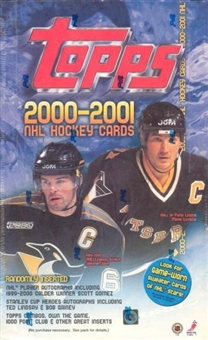 2000/01 Topps Hockey 36 Pack Box