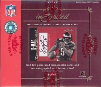 2004 Fleer Inscribed Football Hobby Box