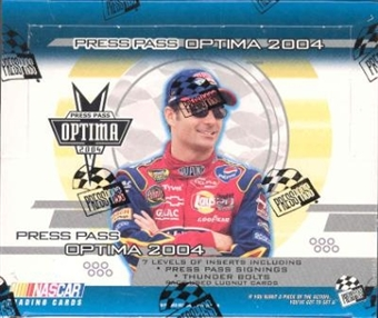 2004 Press Pass Optima Racing Hobby Box