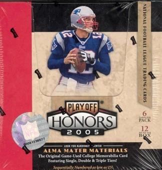 2005 Playoff Honors Football Hobby Box