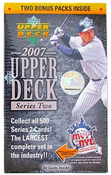 2007 Upper Deck Series 2 Baseball 12-Pack Blaster Box