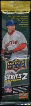 2008 Upper Deck Series 2 Baseball Rack Pack (Lot of 24)