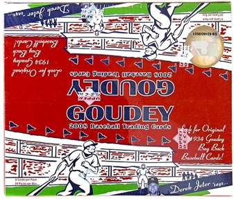 2008 Upper Deck Goudey Baseball Retail Box