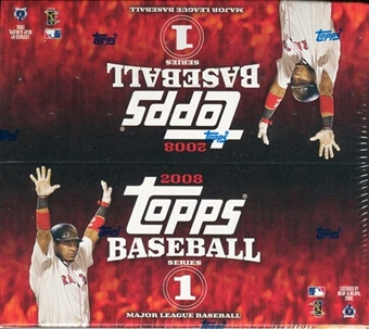 2008 Topps Series 1 Baseball 24-Pack Box