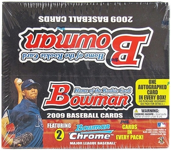 2009 Bowman Baseball 24-Pack Box