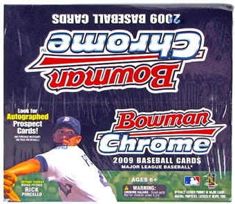 2009 Bowman Chrome Baseball 24-Pack Box