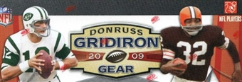 2009 Donruss Gridiron Gear Football 24-Pack Lot (Box)