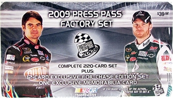 2009 Press Pass Factory Set Racing (Box) - CLOSEOUT !!!