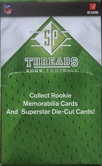 2009 Upper Deck SP Rookie Threads Football 36-Pack Box