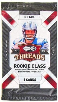 2009 Donruss Threads Football Retail Pack