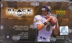 1998 Upper Deck Black Diamond Rookie Edition Football Retail Box
