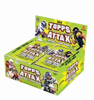 2010 Topps Attax Football Booster Box