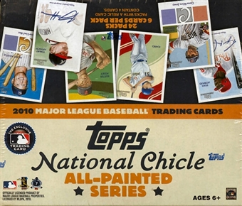 2010 Topps National Chicle Baseball 24-Pack Box