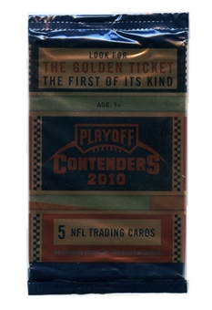 2010 Playoff Contenders Football Retail 24 Pack Lot