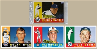 2010 Topps Heritage Baseball National 4 Card Set (B)