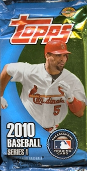 2010 Topps Series 1 Baseball Jumbo Pack