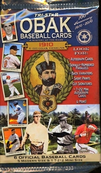 2010 TriStar Obak A History of the Game Baseball Hobby Pack