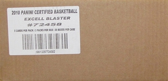 2009/10 Panini Certified Basketball Hobby Blaster 20-Box Case