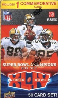 2010 Upper Deck Football Super Bowl XLIV Champions Set (New Orleans Saints)