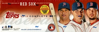 2010 Topps Factory Set Baseball (Box) (Boston Red Sox)