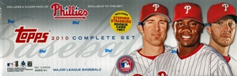 2010 Topps Factory Set Baseball (Box) (Phillies)