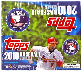 2010 Topps Series 1 Baseball 16-Pack Box