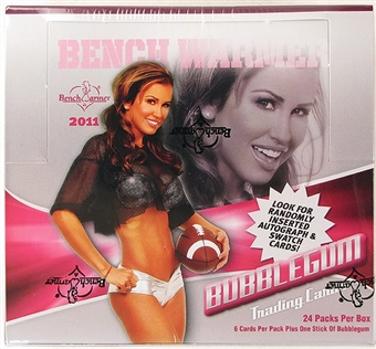 BenchWarmer Bubblegum Trading Cards Box (2011)