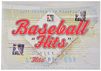 2011 ITG Heroes & Prospects Hits Series 1 Baseball Hobby Box