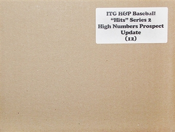 2012 ITG Heroes & Prospects Hits High Numbers Update Baseball Hobby 12-Box Case