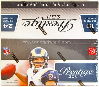 2011 Panini Prestige Football Retail 24-Pack Box