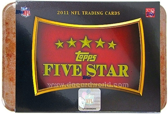 2011 Topps Five Star Football Hobby Box