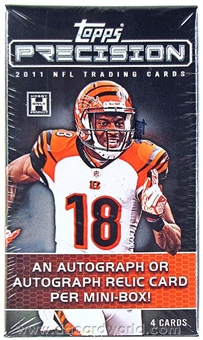 2011 Topps Precision Football Hobby Pack